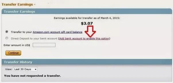 Comment transférer les gains de MTurk sur mon compte bancaire