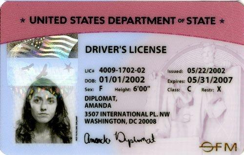 How can people with diplomatic status obtain a drivers licence in they receive drivers licenses and plates issued by the united states department of state rather than any state motor vehicle agency altavistaventures Gallery