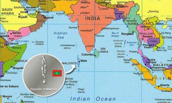 Is Maldives A Neighbouring Country Of India Quora