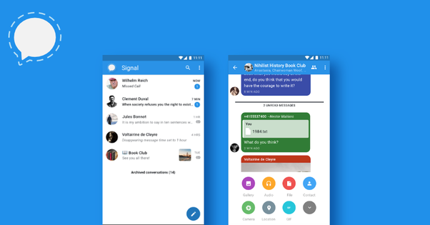 Which is the more secure messaging app, Signal or Wire