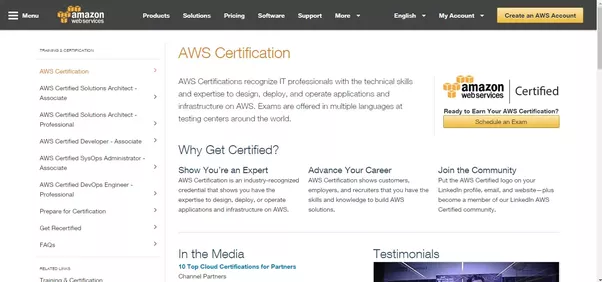 What is the best resource for learning aws quora the company offers five different certifications solutions architect associate solutions architect professional developer associate fandeluxe Gallery