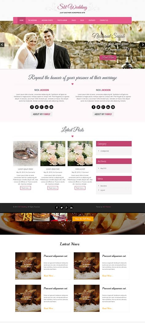 What Is The Best Free Wordpress Theme For Weddings Quora