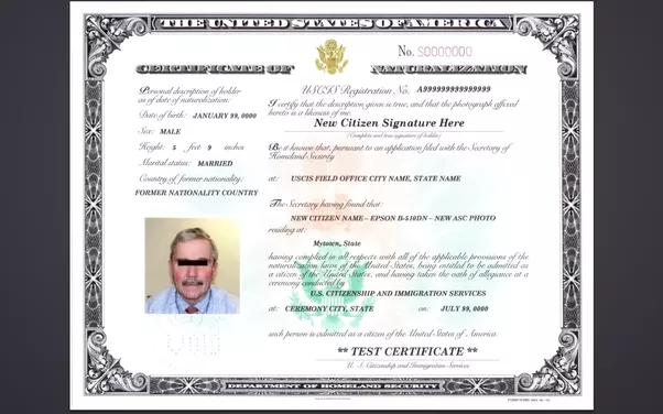What is a certificate of naturalization number? - Quora