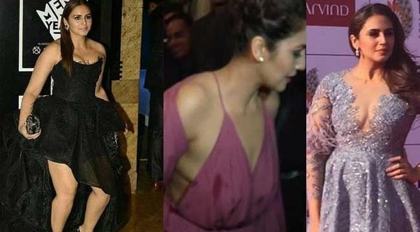 Momen Foto memalukan Artis Bollywood, huma qureshi Malunya Tingkat Dewa