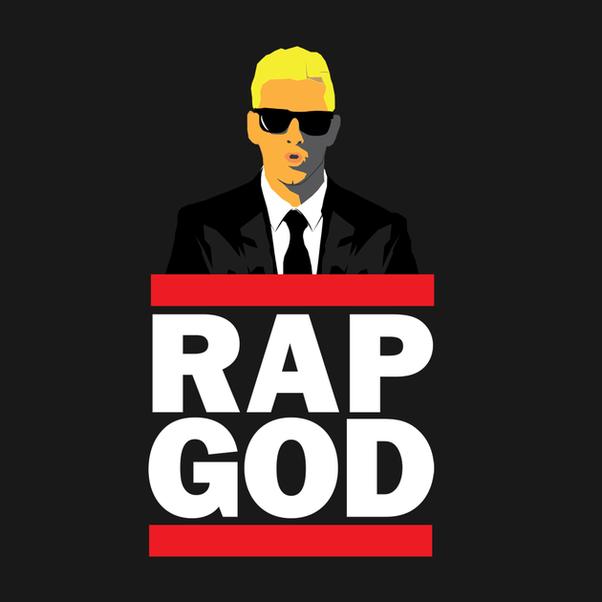 How could Eminem rap s...
