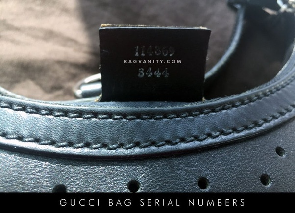 8b51b0b1fa8ba7 How to find the serial number on a vintage GG Marmont leather ...