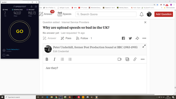Why are upload speeds so bad in the UK? - Quora
