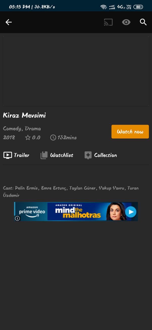 Where can I find Turkish drama series 'Kiraz Mevsimi' with English