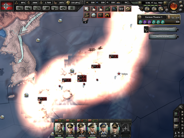 What is the best outcome you've had on Hearts Of Iron IV