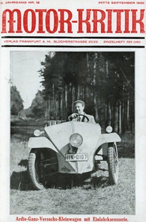 Apparently, the man who designed the Volkswagen Beetle was not Ferdinand Porsche but Josef Ganz ...
