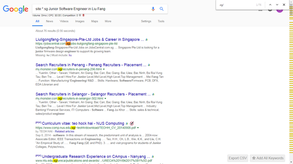 What Is The Best Way To Get A Job In Singapore Quora