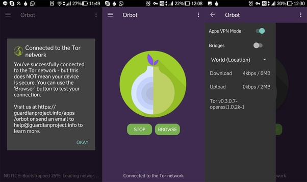 using tor browser illegal