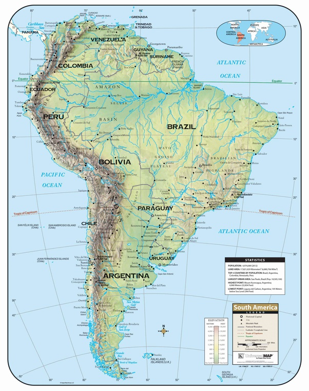 How come Chile is a thin strip of land while its neighbour ...