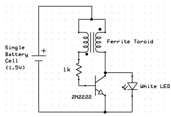 can the bjt transistor in a joule thief be replaced with a
