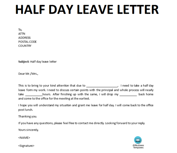 Example Of Leave Letter from qph.fs.quoracdn.net