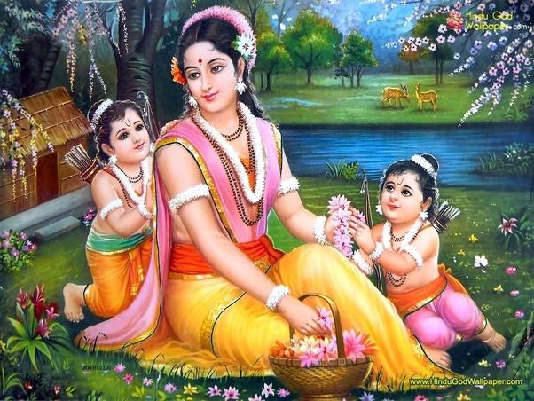 Who was more beautiful: Sita or Draupadi? - Quora