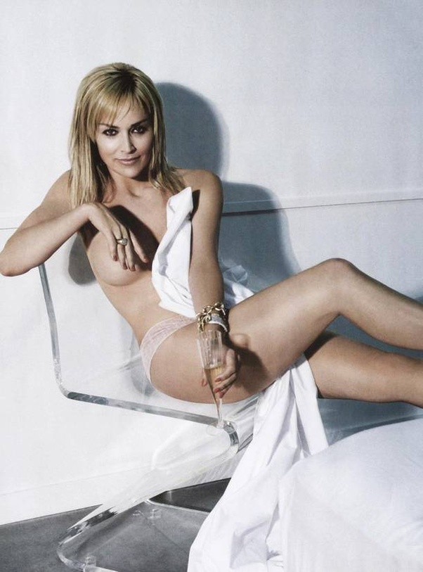 Can you share some hot pics of sharon stone? - Quora