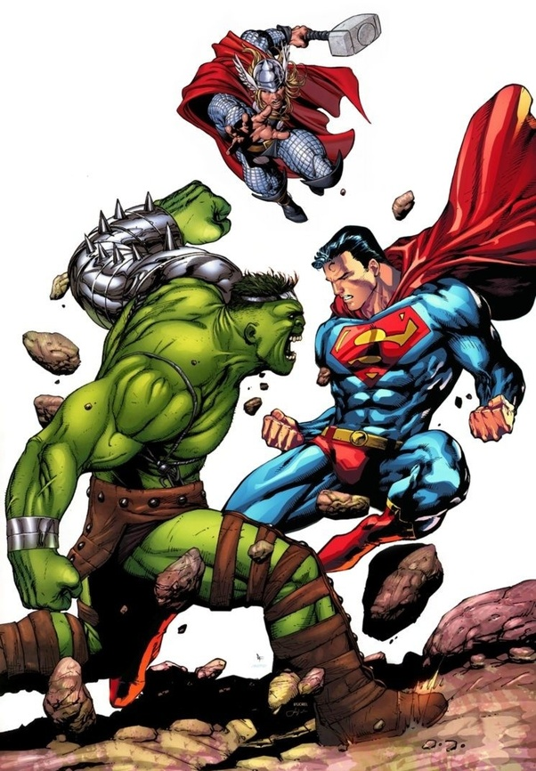 Who would win in a fight: Thor and Hulk vs Doomsday and ...Doomsday Vs Hulk