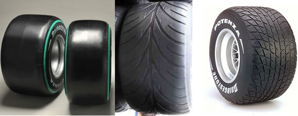 Why Do Race Car Tires Have No Tread