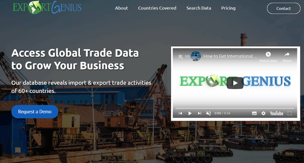Which website provides the latest import and export data? - Quora