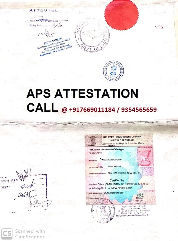 How is PCC Apostille from MEA? - Quora