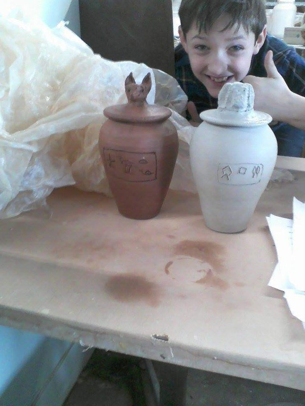 how to make a canopic jar out of clay quora