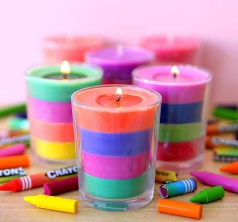 Can we burn wax crayons as normal candles? - Quora