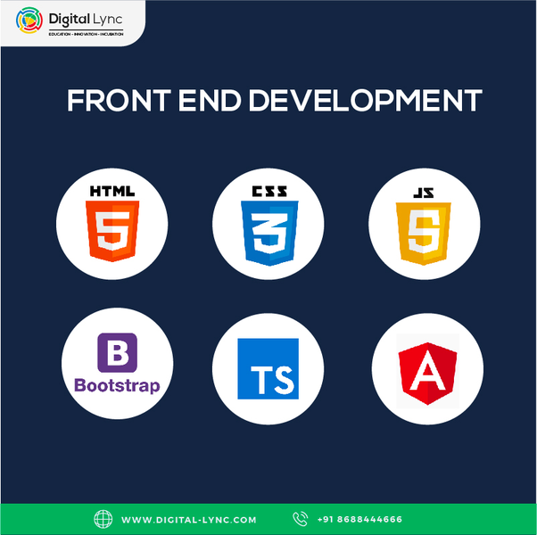 Which is the best institute in Hyderabad for a front-end