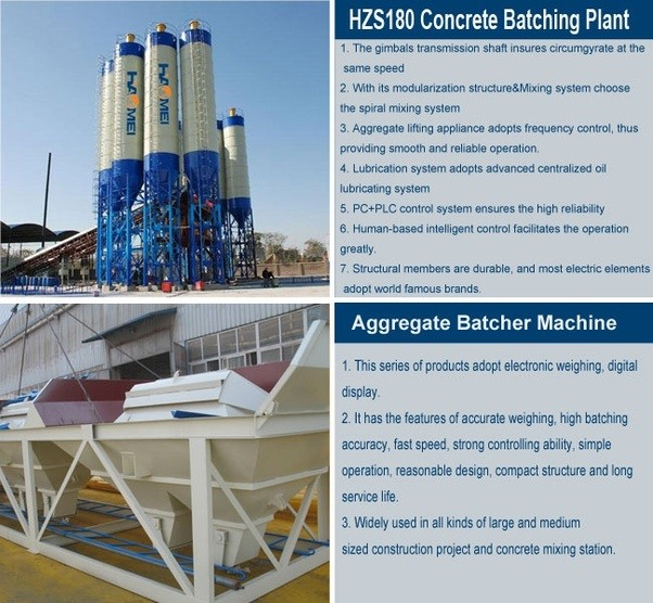 working principle of concrete batching plant The concrete batching plant, known as: concrete mixing plant, is an machine that can combines various things like sand, cement, water, etc to produce concrete these various ingredients are mixed in different ratios depending on the final model of the concrete which the company needs.