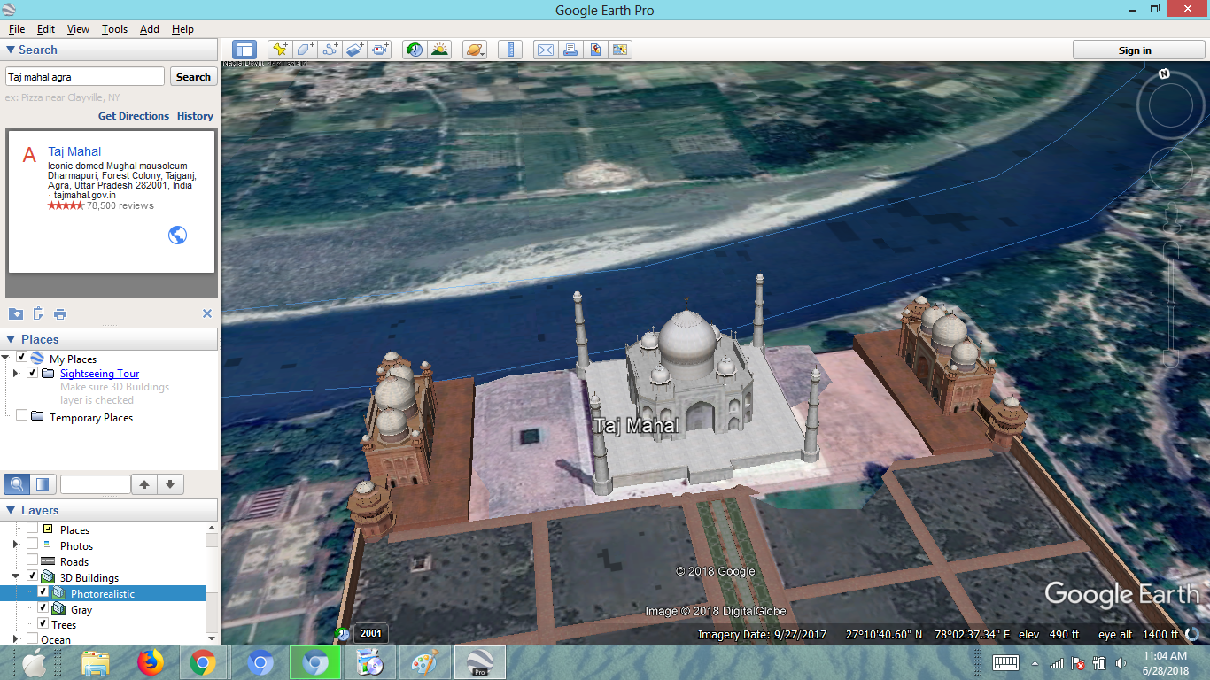 What are the main differences between Google Earth and