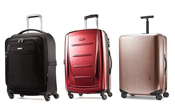 7c6b7d5221 ... hardside luggage in a variety of bold colors and finishes