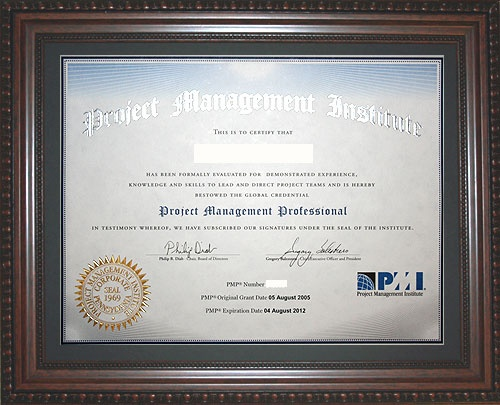 What is a PMP certification? - Quora