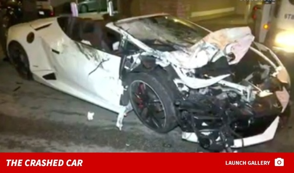 A Drunk Guy, Trying To Impress A Girl, Crashed His Rented Lambo. Notice  That The Article Starts With U201cThis Happens More Often Than You Think!