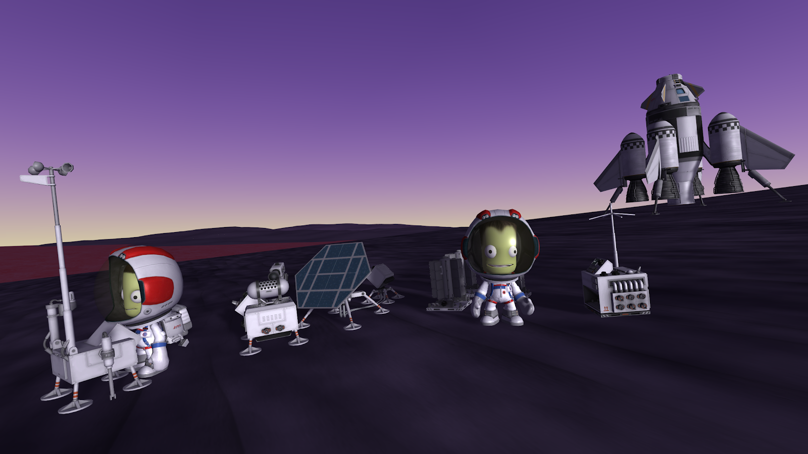 If you could add 5 features to the Kerbal Space Program