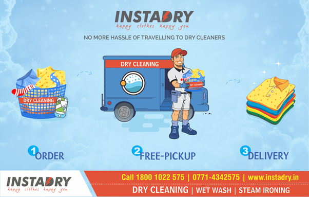 Is There Any Way To Schedule My Laundry Online In Raipur