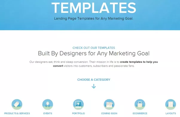 Are There Any Good Examples Of Dynamic Landing Pages And Providers - High converting landing page templates