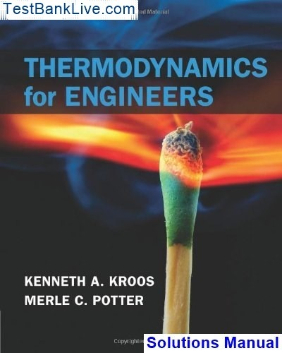 Thermodynamics An Engineering Approach 6th Edition Solution Manual Pdf