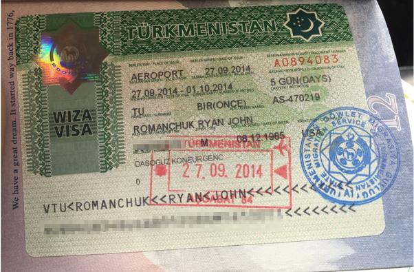 Мужчине, виза в туркменистан для граждан россии без приглашения стоимость