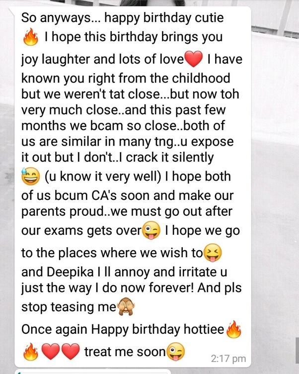 Heart Touching Birthday Wishes For Best Friend