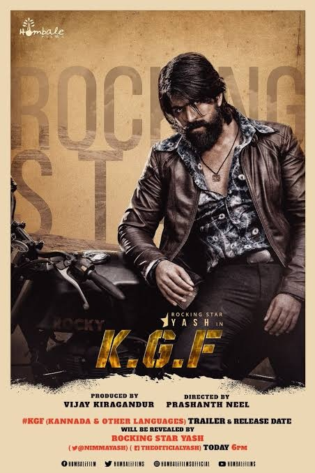 What do you think about the KGF Kannada movie which is being