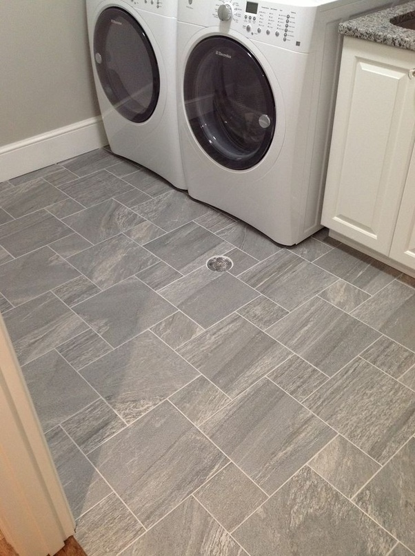 Flooring To Put In A Laundry Room, What Is The Best Flooring For A Basement Laundry Room