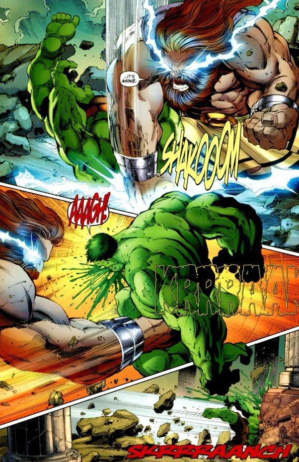 Zeus vs World Breaker Hulk, who would win? - Quora