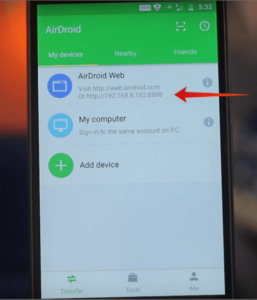 How to cast mirroring to Windows 7 from an Android mobile