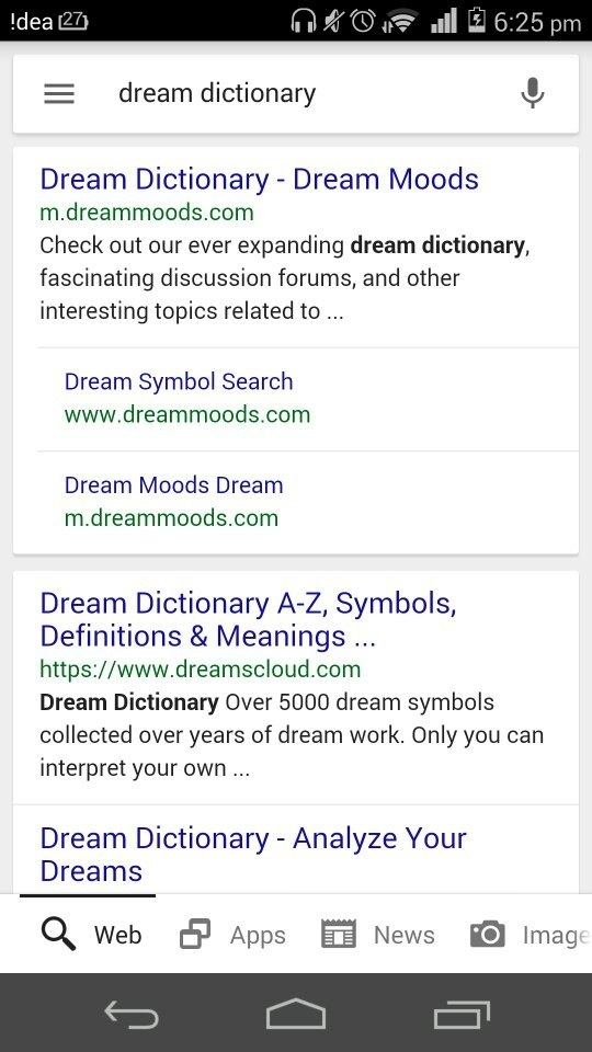 What Does This Dream Explained Below Mean Quora
