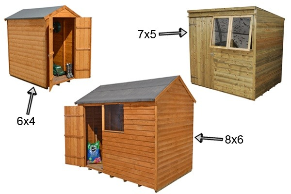 As These Sheds Are Produced In Bulk By A Wide Range Of Manufacturers, They  Are Likely To Cost Less Than More Unusual Sizes.