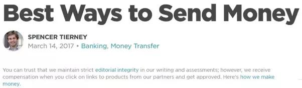 Comment envoyer de l'argent sans PayPal