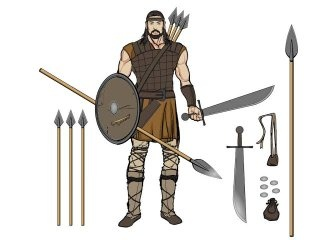 What benefits did a formation of short swords and shield have in