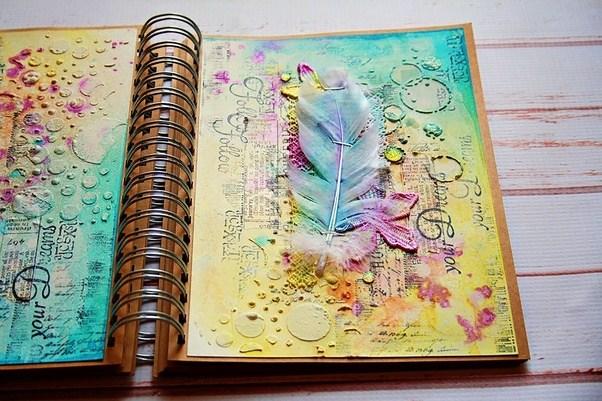 Art Journal Calendar Tutorial : How to turn an old book into art journal quora