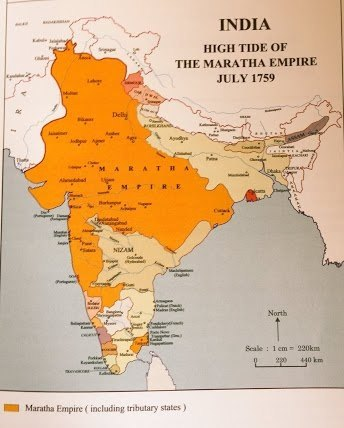 Image result for maratha empire