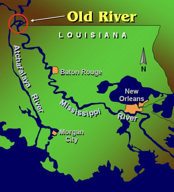 Will the Mississippi River ever change its course and bypass New